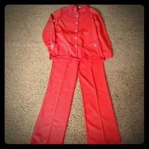 VNTG NPC Fashions pant suit